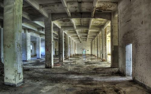 Abbruchhalle