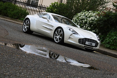 Aston Martin One-77 (JeremySW) Tags: white london martin supercar aston astonmartin supercars hypercar hypercars one77 astonmartinone77