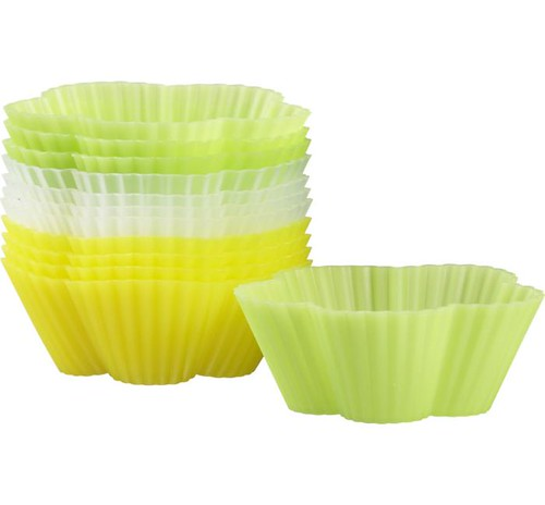 flower baking cups