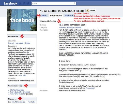 no cierren facebook