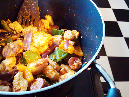 Chicken and Chorizo Stew - The Inky Kitchen