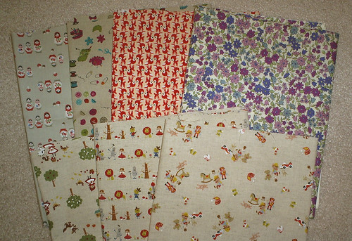 New stash - Japanese fabrics