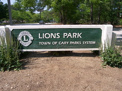 Cary NC, Lions Park