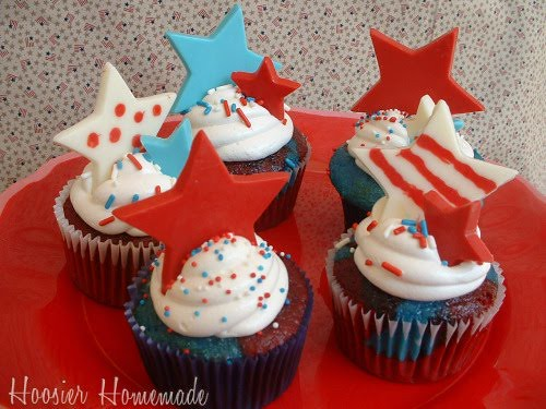 5720671828 f6221c239c USA Memorial Day / American Independence Day Cupcakes