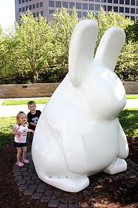 Behind-bunny