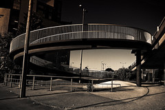 S (I AM JAMIE KING) Tags: bridge shadows s helix hull curve coil slope flyover