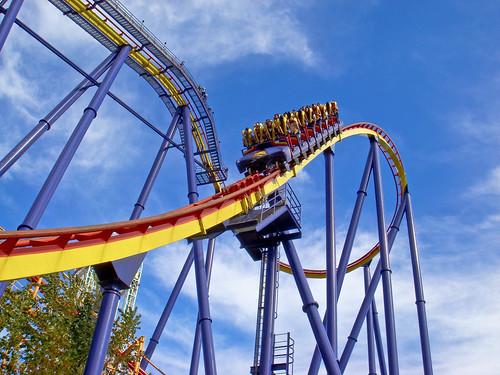 Mantis Rollercoaster @ Cedar