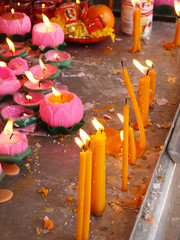 Candles (YeeJen) Tags: temple buddhist malaysia kualalumpur kl wesak brickfields mahavihara