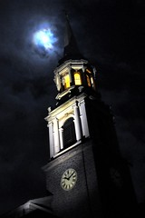 Moon over Central Union Church