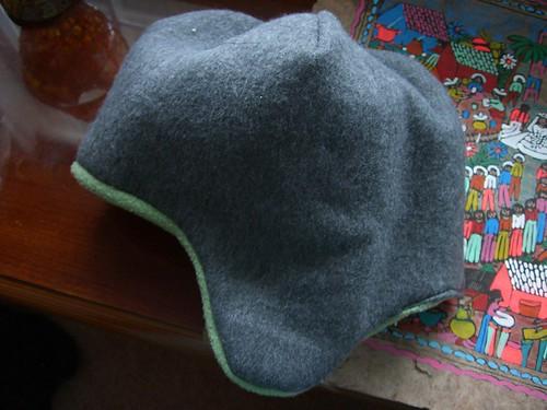 Vic's fleece hat of doom