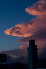 200901142 (Guto de Lima) Tags: pordosol azul cu natureza rosa beleza nuvem balneriocambori crepsculo