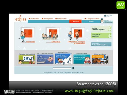 Gestalt - Ethias Homepage