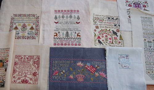 Samplers I would like to get framed for my sampler wall.
