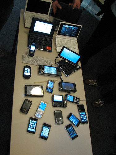 Mobile devices at mbc09