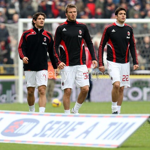 Pato , Beckham and Kaka