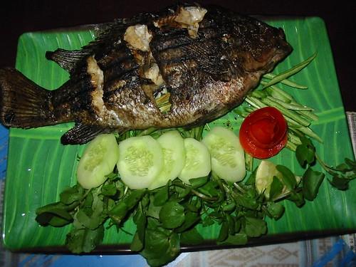 Overheerlijke BBQ fish