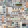 Patchwork (Alain Pré) Tags: abstract building facade topf50 topc50 pre patchwork alp immeuble abstraite altrafotografia faèade dwwg