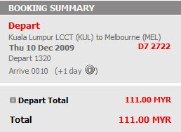 cheap flight to melbourne