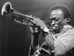 miles davis/50 years of kind of blue (david haggard) Tags: trumpet jazz 50thanniversary johncoltrane 1959 milesdavis billevans sowhat kindofblue cannonballadderly jimmycobb paulchambers