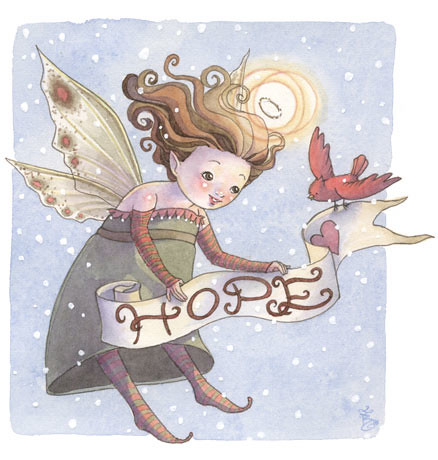 Fairy Blessings - Hope by Sara Butcher