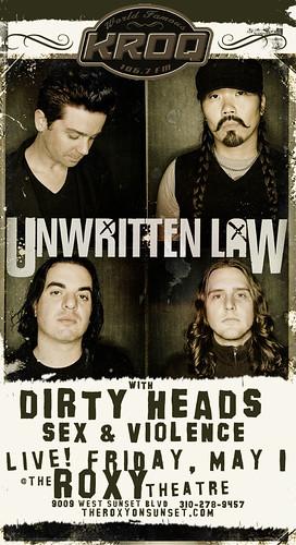 Unwritten Law 5/1