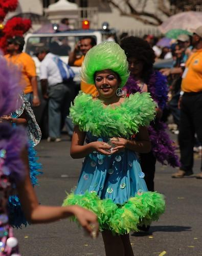 Carnaval Merida 2009 Chica de Verde