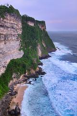(tropicaLiving - Jessy Eykendorp) Tags: ocean light sea bali cliff seascape green beach indonesia landscape coast rocks shoreline wave uluwatu coastline efs1022mmf3545usm canoneos50d tropicaliving vosplusbellesphotos jessyce tropicalivingtropicalliving