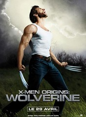 Affiche X-Men Origins : Wolverine por cesar.monchablon