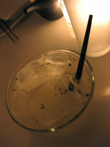 """Silver Samurai"" cocktail at SEI"