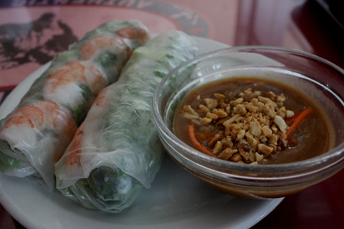 Fresh Shrimp Spring Roll