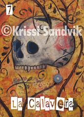 La Calavera (The Skull) Loteria by Krissi Sandvik