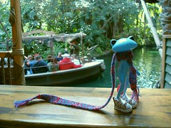 53 Henry waits to take a Jungle Cruise (irulethegalaxy) Tags: disneyland disney tudor henry viii 8th eighth henryvii henrytheeighth henrythe8th studiouoo wonderfrog notatudor