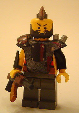 Raider custom minifig