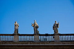 "Vatican statues • <a style=""font-size:0.8em;"" href=""http://www.flickr.com/photos/37214282@N00/3409199724/"" target=""_blank"">View on Flickr</a>"