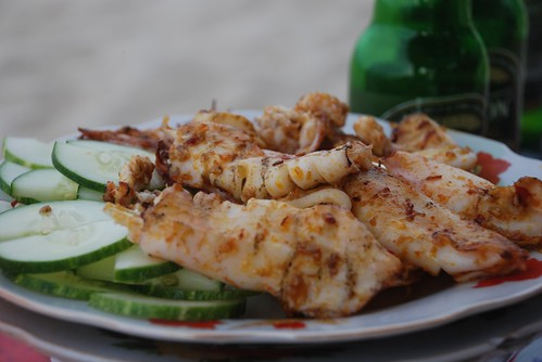 Grilled squid - Hoi An