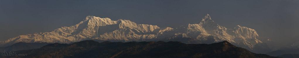 Annapurna Range - Himalaya