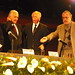 Carlos Fuentes en la UNAM.
