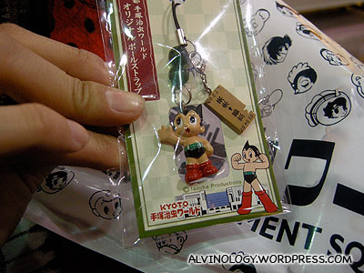 I bought this handphone strap