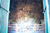 Buddha inside Candi Mendut