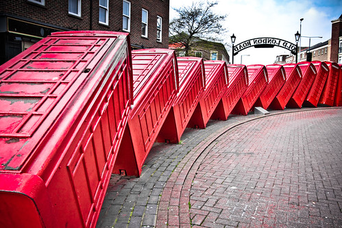 Phone boxes in Kingston. Image Credit: garryknight, Flickr