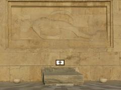 Monument to the Unknown Soldier, Athens, Greece (Tilemahos Efthimiadis) Tags: hellas athens greece 100views 50views syntagma tsolias    evzonas   unkonwnsoldier address:city=athens  address:country=greece