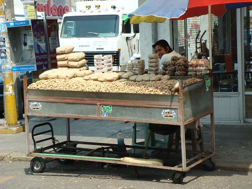 The Peanut Vendor.