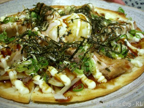 PZ - teriyaki chicken pizza RM12