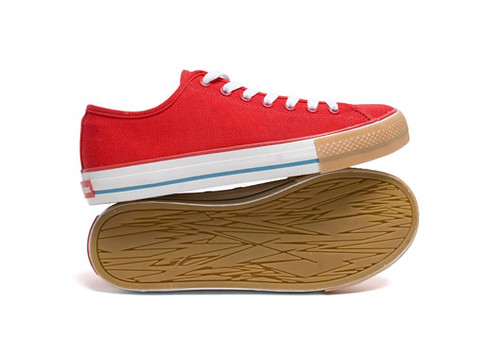 The Hundreds - Valenzuela Low Red/Gum