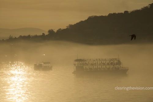 Mazatlan harbor dawn