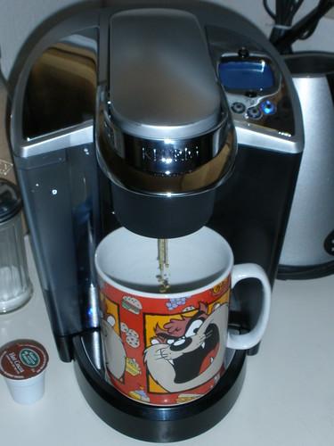 Keurig 13 first coffee