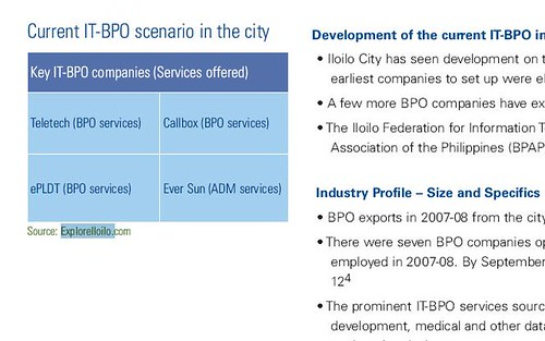 Explore Iloilo cited by international firm, KPMG