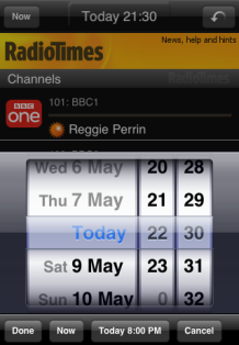 Radio Times iPhone