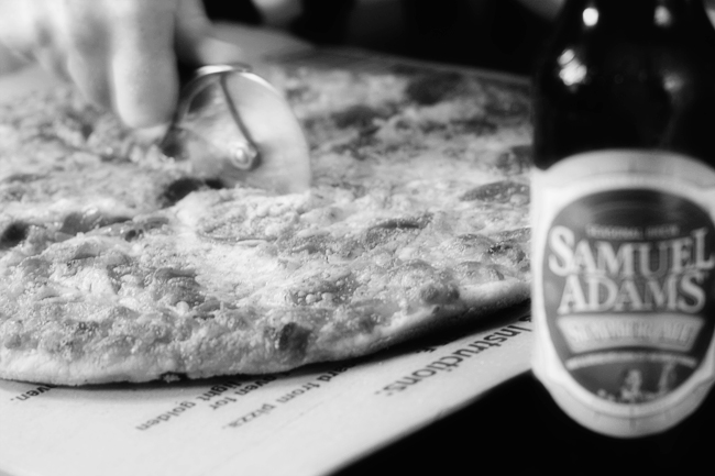 5/8: Pizza and Beer Night
