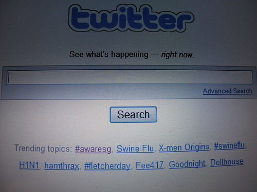 "#awaresg trended on Twitter! Is ""trended"" even a word?"